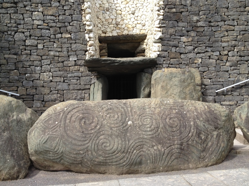 The Entrance Stone at Newgrange.
