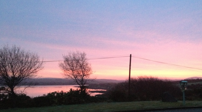 Ard Glas Dawn, Winter Solstice 2012