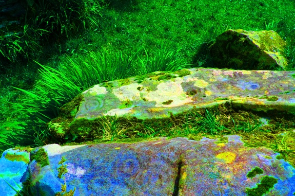Rock Art - was it once painted?