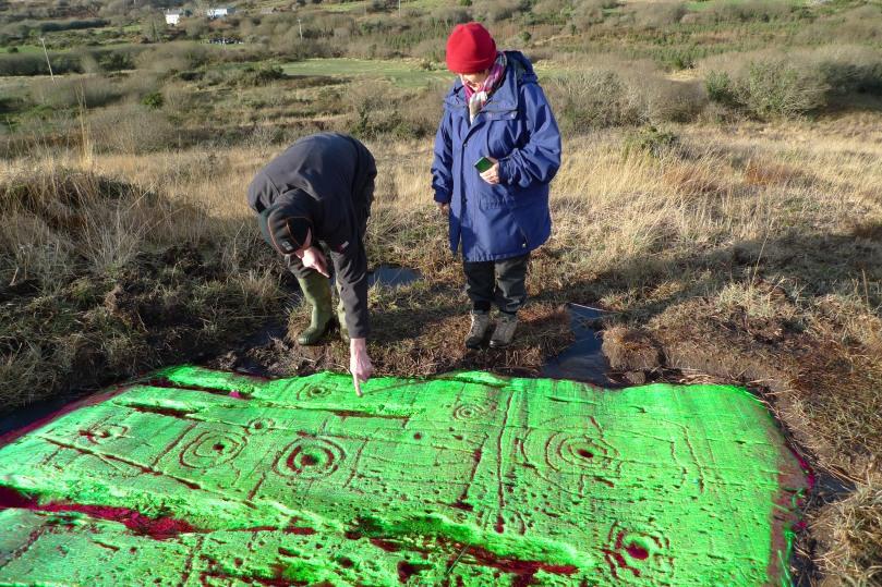 Gary and Finola puzzle over this St Patrick's Day phenomenon at Derreenaclough