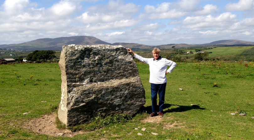 Bishops Luck - a megalithic close by Nead an Iolair: according to local legend, a