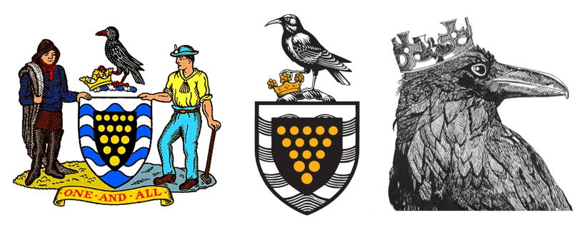 Cornwall's old and new logos: and the 'Raven King' - in folklore, Choughs and Ravens are interchangeable