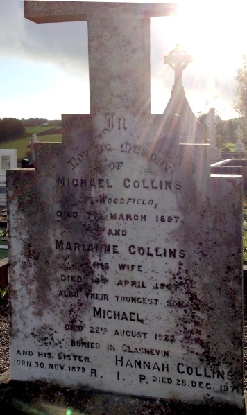 The Collins grave in Rosscarberry