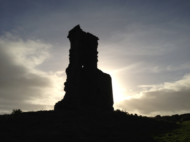 Rossbrin Castle - at the centre of the Medieval world