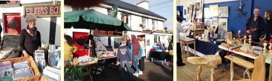 Amanda and her beautiful Wayfarer Cards; December weather in Kilcrohane; furniture and art in Ballydehob