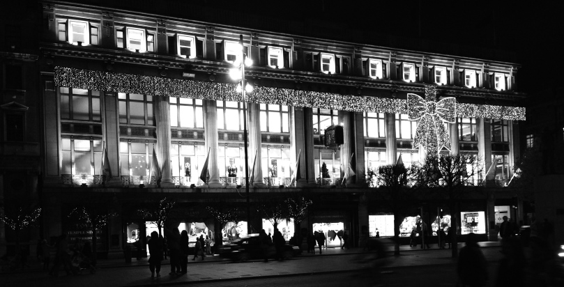 Clery's lit for Christmas