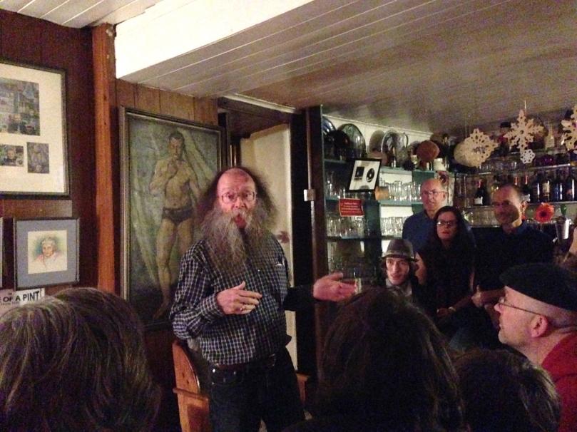 Eddie Lenihan - travelling storyteller