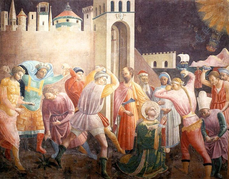 St Stephen - the stoning