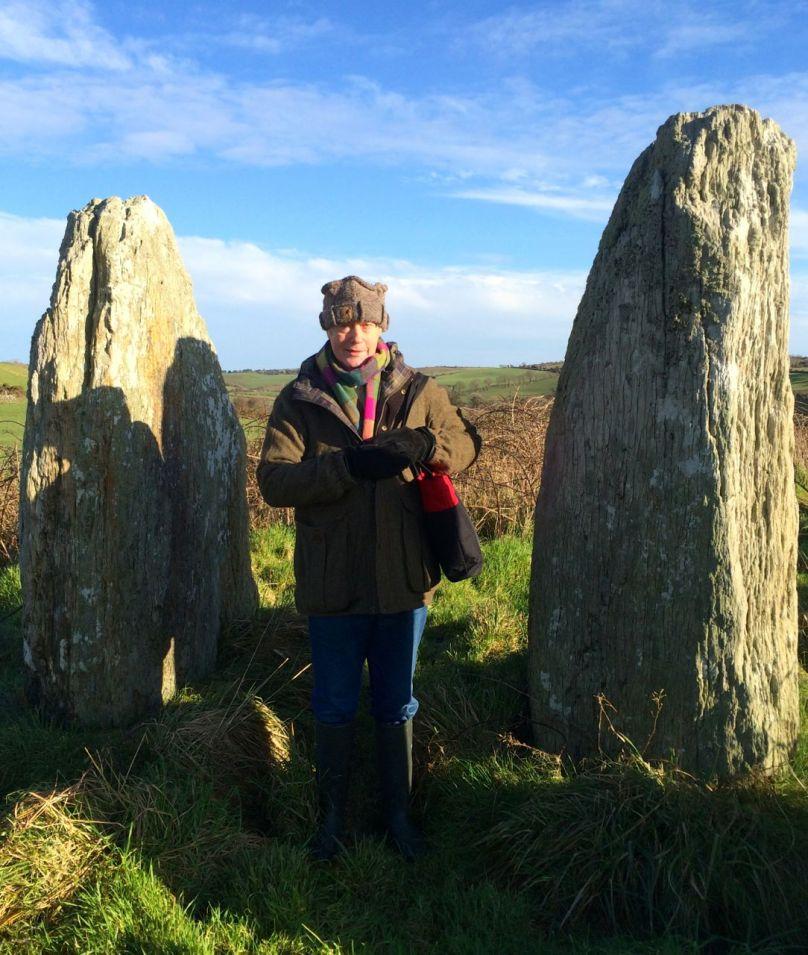 The portal stones at Bohonagh