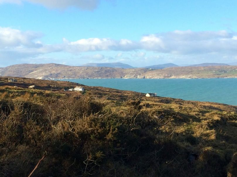 Across to the Sheep's Head and Beara Peninsula