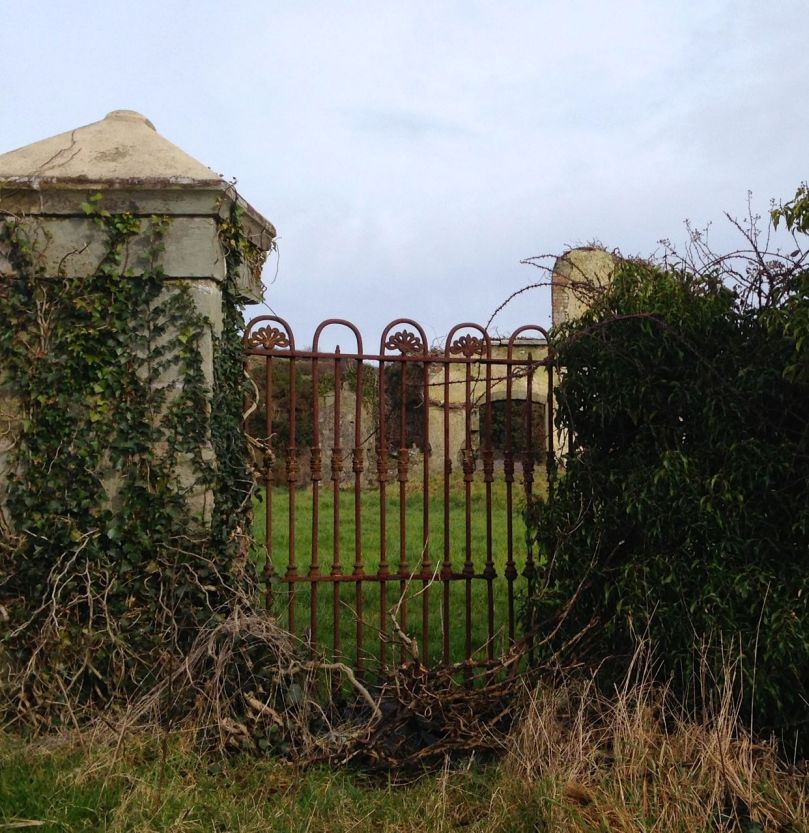 The ruins of the Schull Worhouse