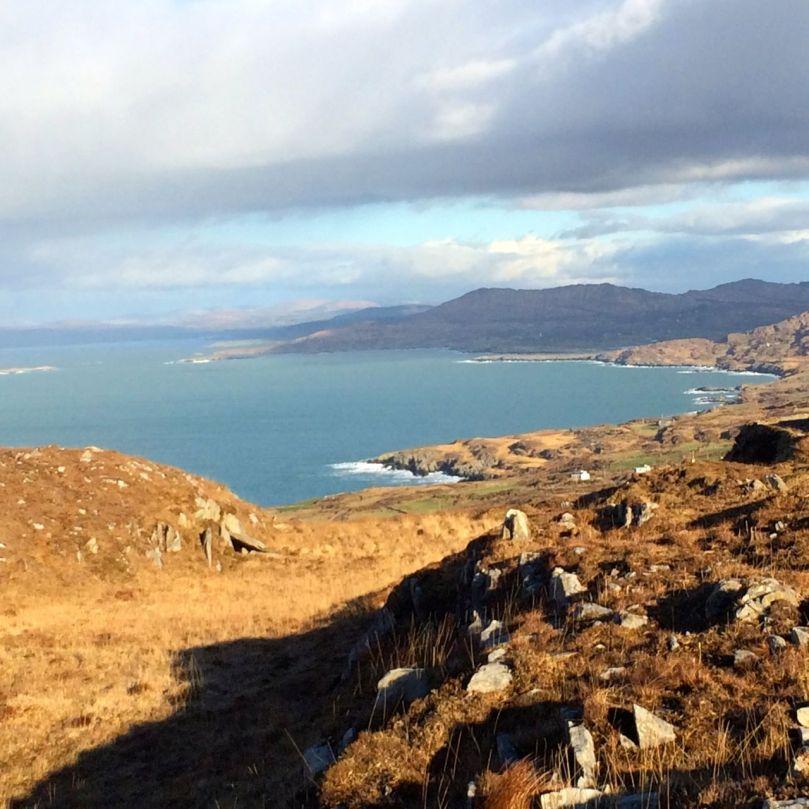 Looking East up Dunmanus Bay