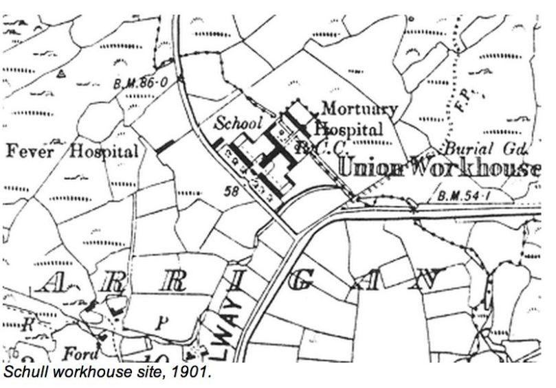 Schull Workhouse Plan
