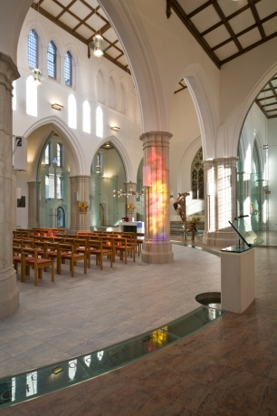 St Peter's, Plymouth - the reordering completed in 2007