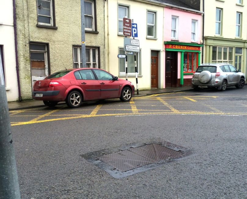 You MUST not stop or park in a box junction