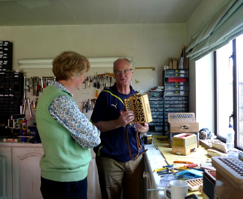 Martin Connolloy - Clare accordion maker