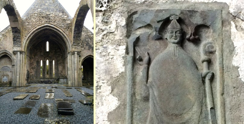 Corcomroe Abbey. 13th Century Cistercian Monastery