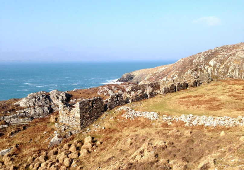 Sheep's Head Copper Mine: Cornish mineworkers' cottages