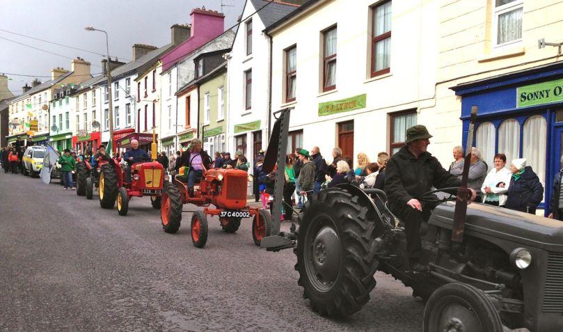 Vintage tractors galore