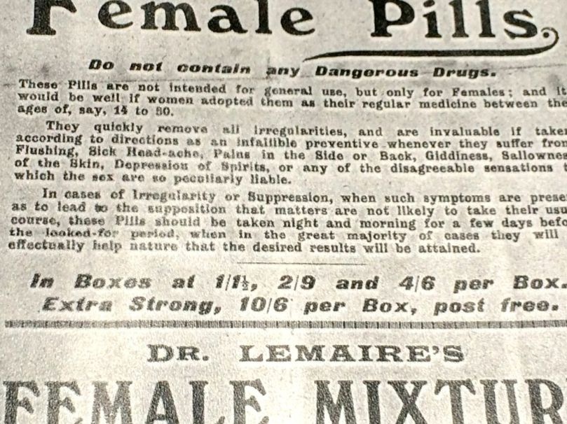 female pills