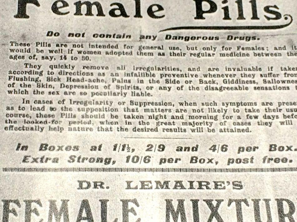 female pills