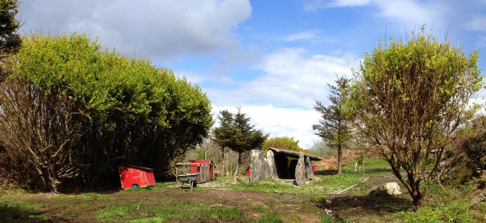 Back Yard Wedge Tomb