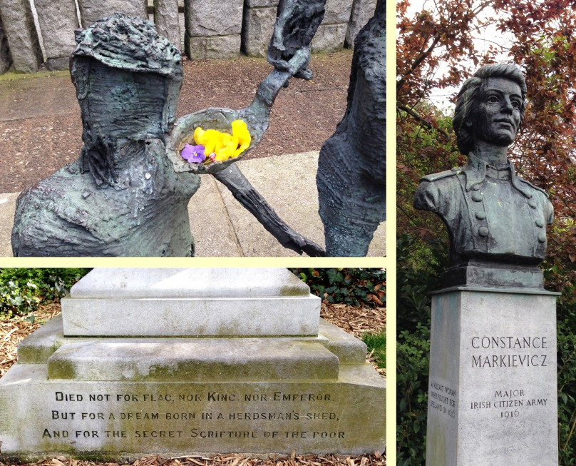 Remembering Irish History in St Stepen's Green