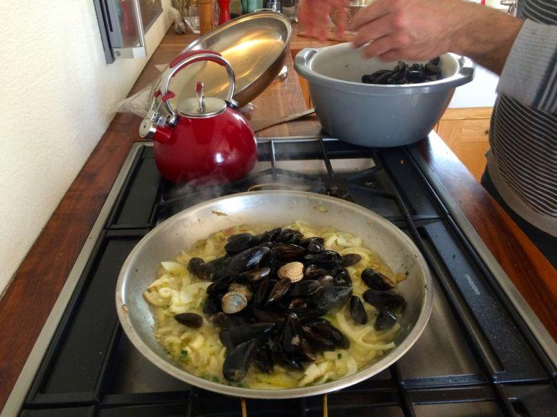 Rui cooks up a feast