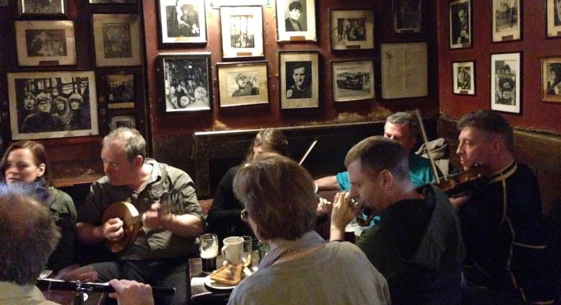 Trad Session at O'Donoghue's