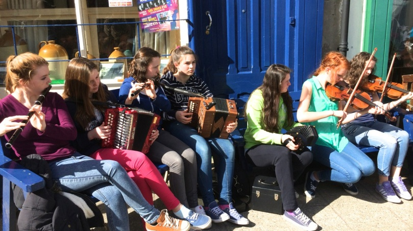 Young Traditional Musicians at the Ballydehob Trad Fest