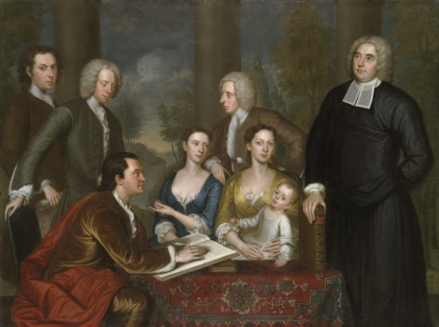 The 'Bermuda Group' - George Berkeley with his family on Rhode Island