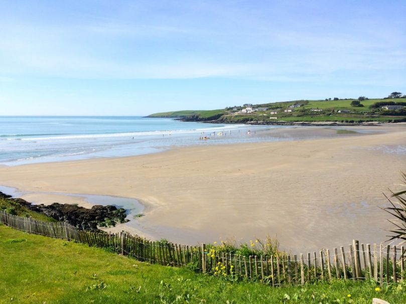 The strand at Inchydoney Island