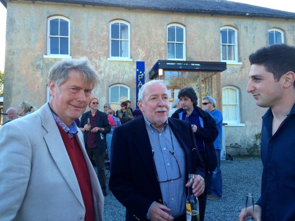 Robert, Chris O'Dell (Festival Artistic Director) and young Austrailian filmmaker Jake Zappia