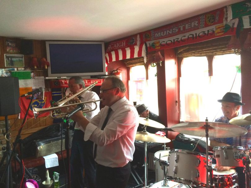 Live jazz in the Irish Whip Bar
