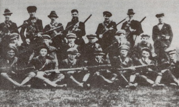 The Third West Cork Flying Column: a group like this carried out the raid