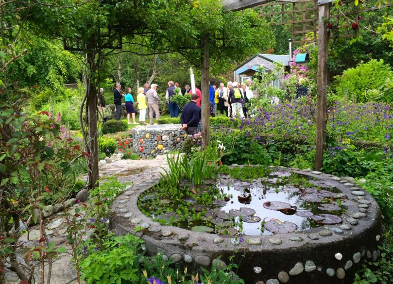 The Garden Trail is declared open at the Heron Gallery Gardens
