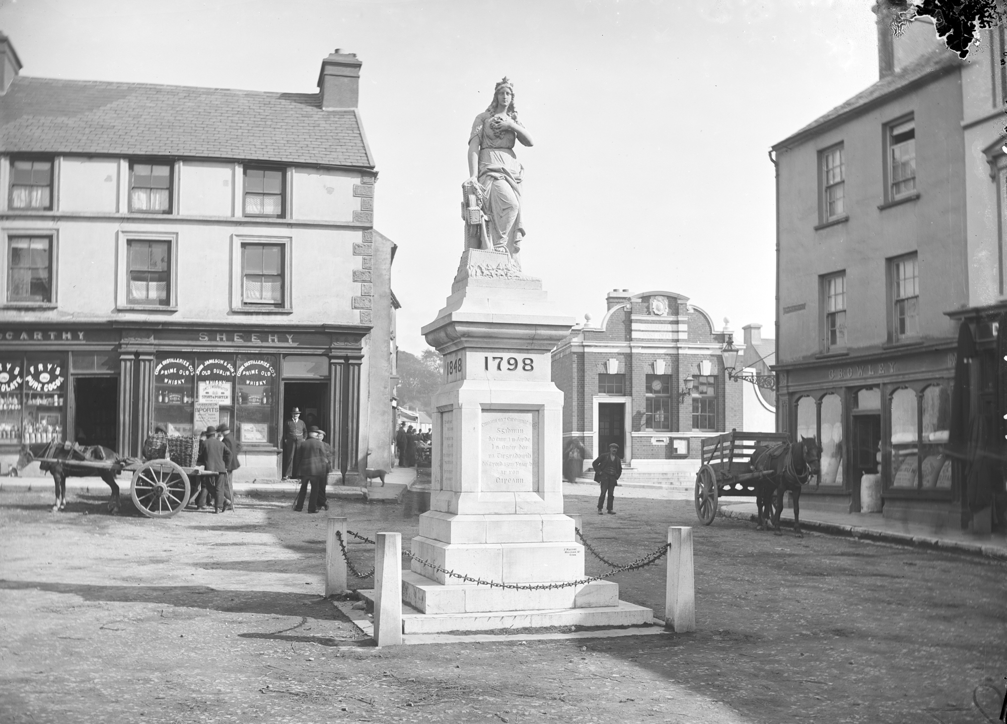 Skibbereen at the end of the 19th century: can you spot the cat?