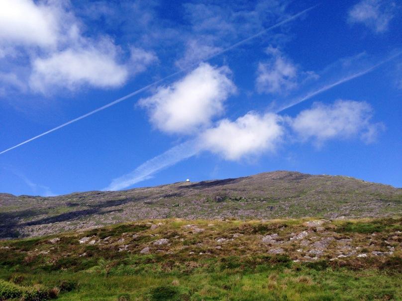 Trails over Mount Gabriel