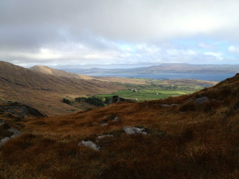 Looking down to Dunmanus Bay