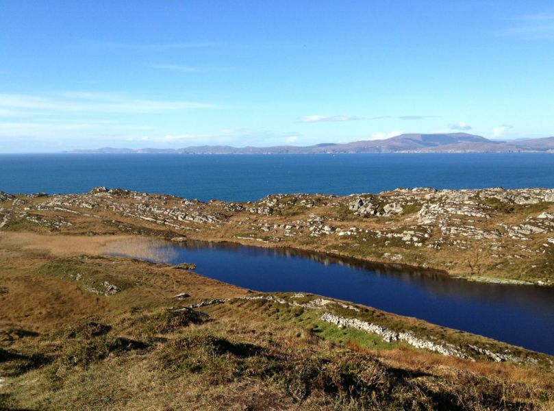 Looking towards the Beara