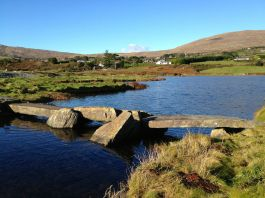 Clapper bridge at Farranamanagh