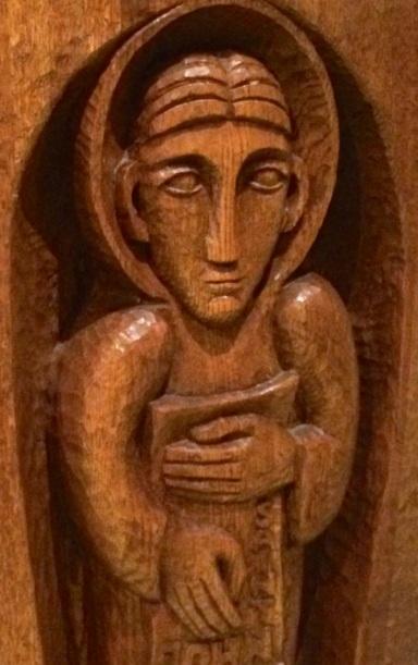 Altar Evangelist - by Imogen Stuart, 1987