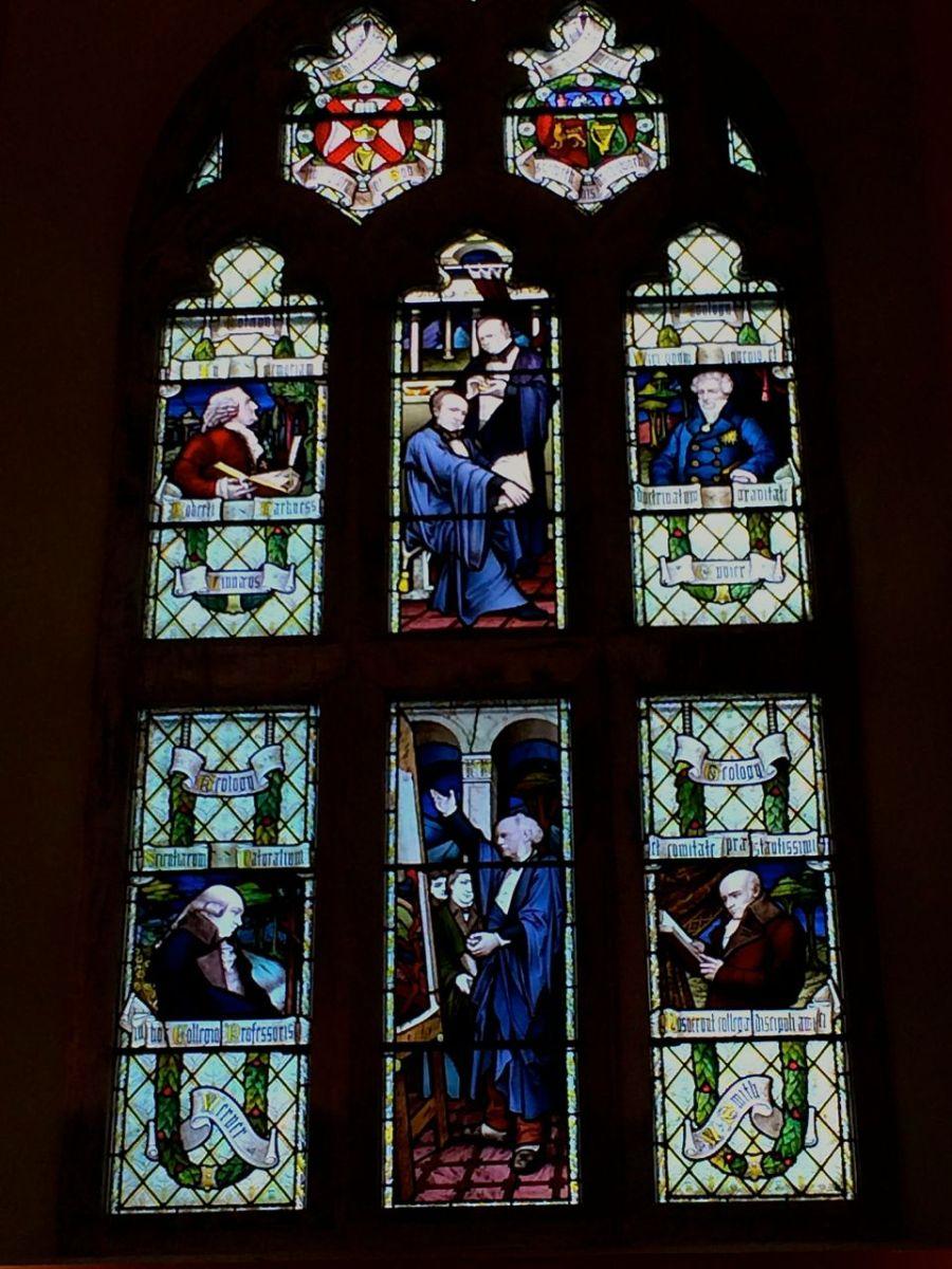 Window in the Aula Maxima