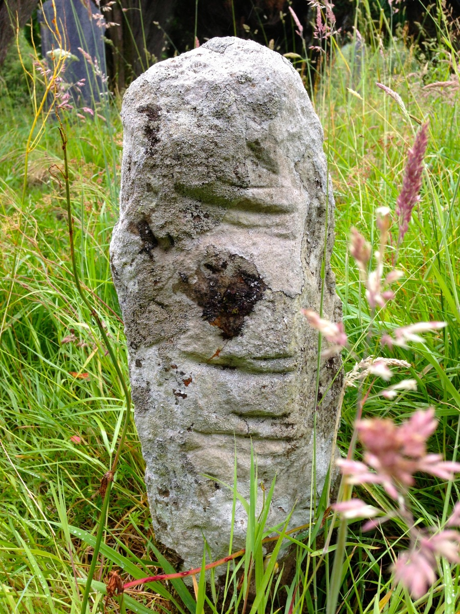In its rightful place: Maulinward Ogham Stone near Durrus