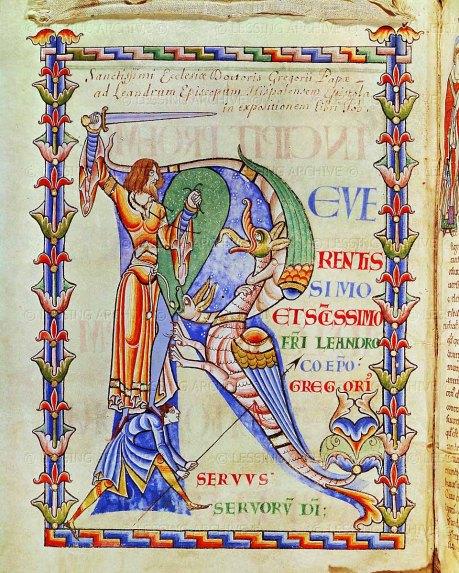 Illuminated Beowulf