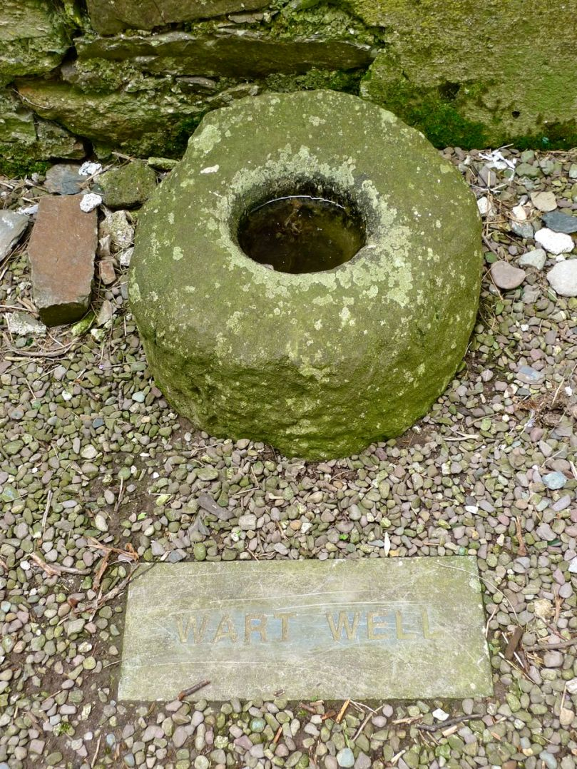Wart Well at Timoleague Friary