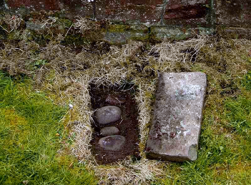 Hidden Cursing Stones at Labbamolaga, Co Cork