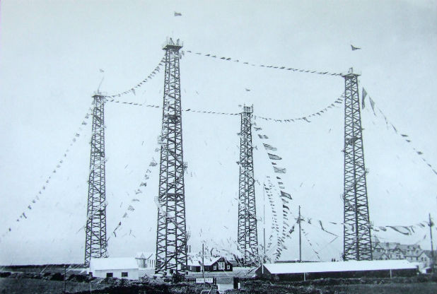 Signal Station at Poldhu, Cornwall, 1914