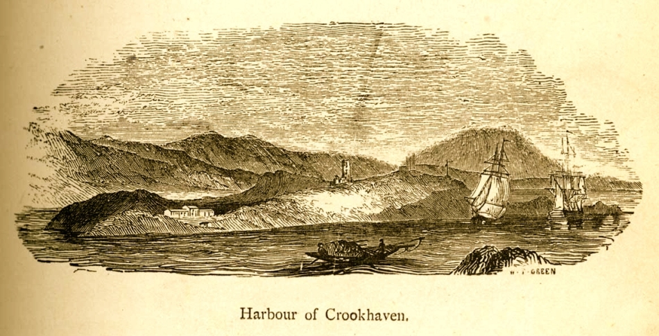 Engraving by Mary Francis Cusack, 1875
