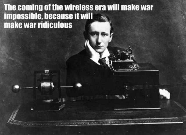 Marconi - wishful thinking!